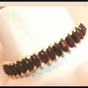 BOHO Beaded Choker Necklace